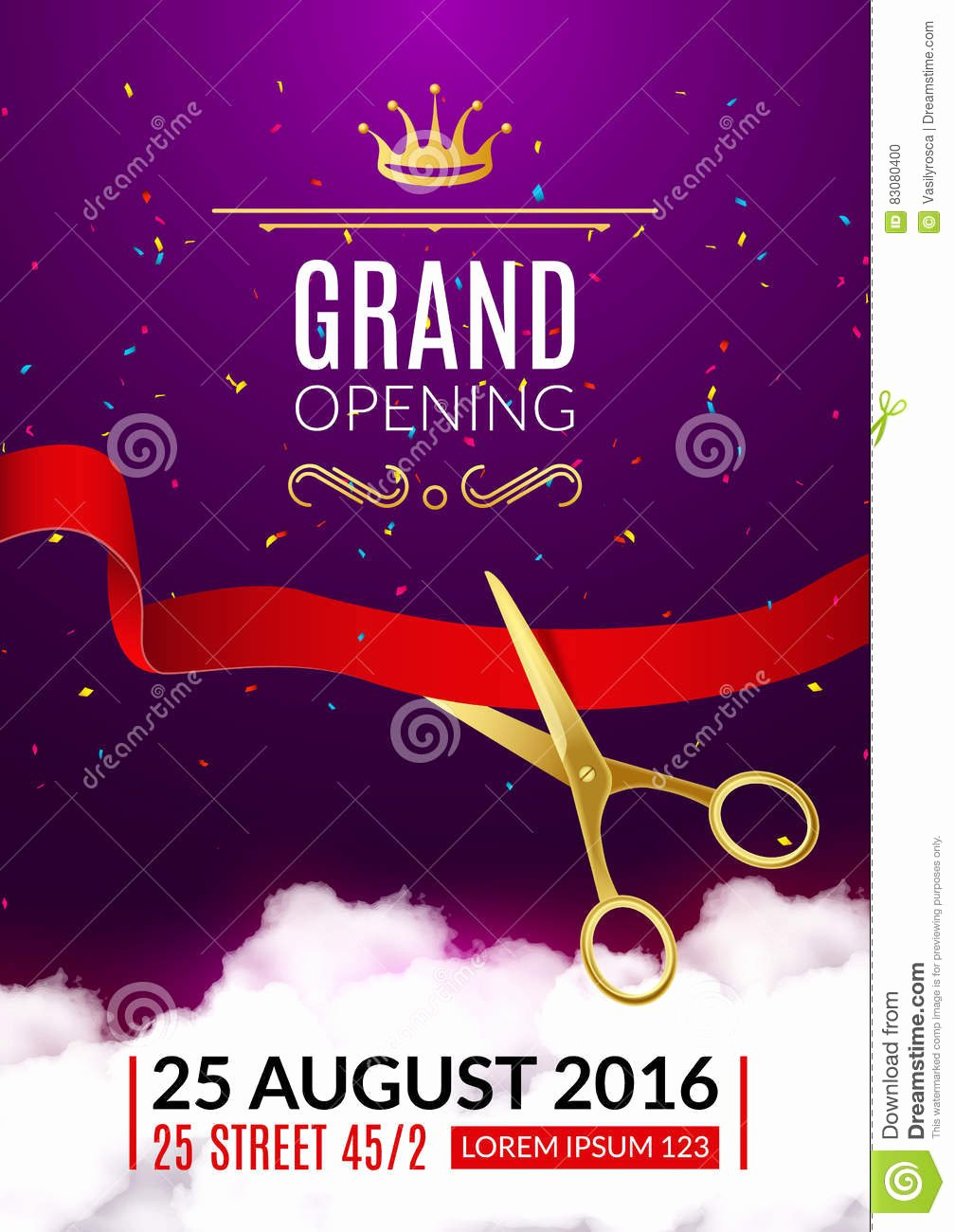 Grand Opening Invitation Card Grand Opening event