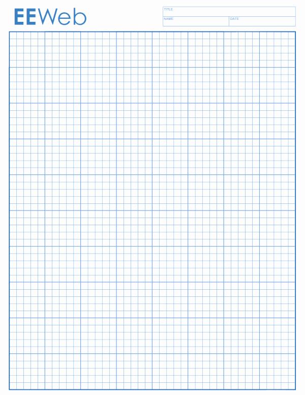 Graph Paper Template 4