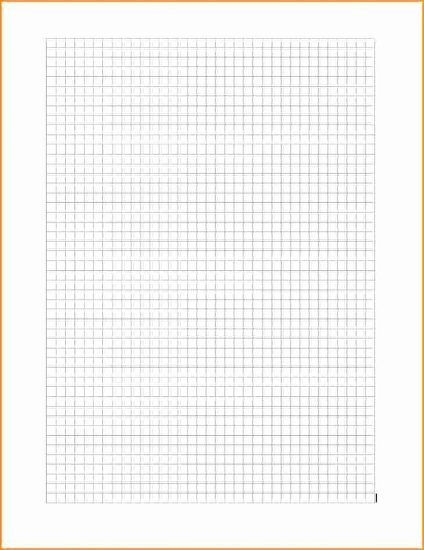 Graph Paper Template Word