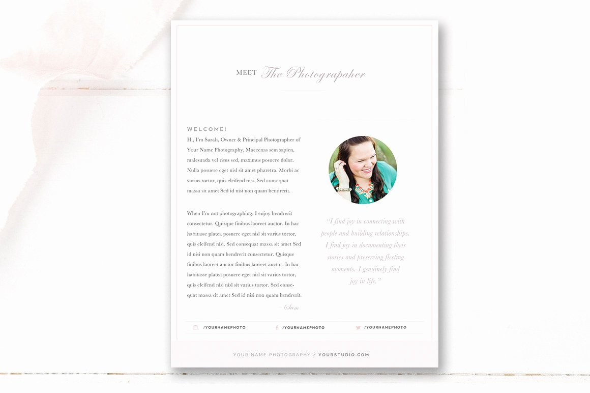 Grapher About Me Template Flyer Templates