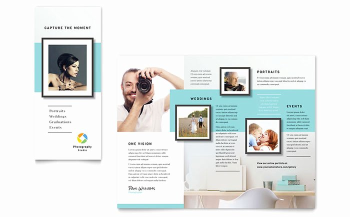 Grapher Brochure Template Word & Publisher