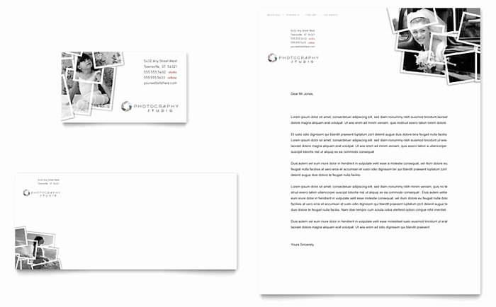 Grapher Business Card & Letterhead Template Design