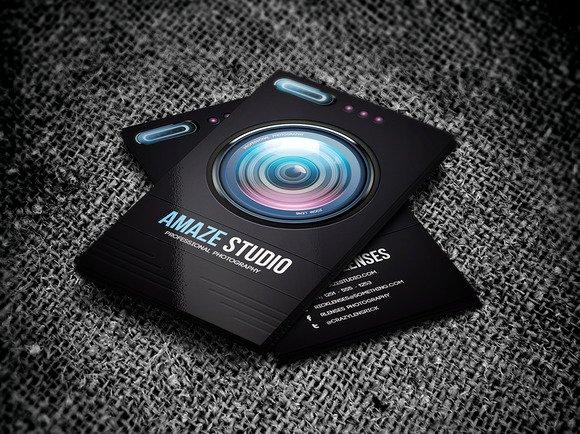Grapher Business Card Samples & Ideas