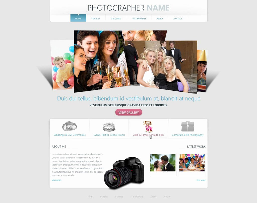 Grapher Website Template