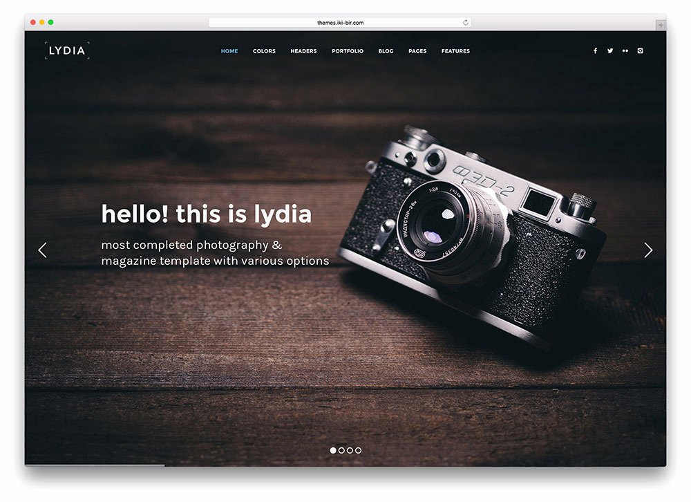 Grapher Website Templates