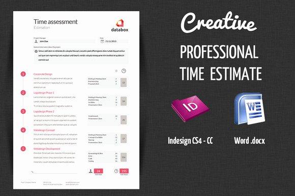 Graphic Design Estimate Template Designtube Creative