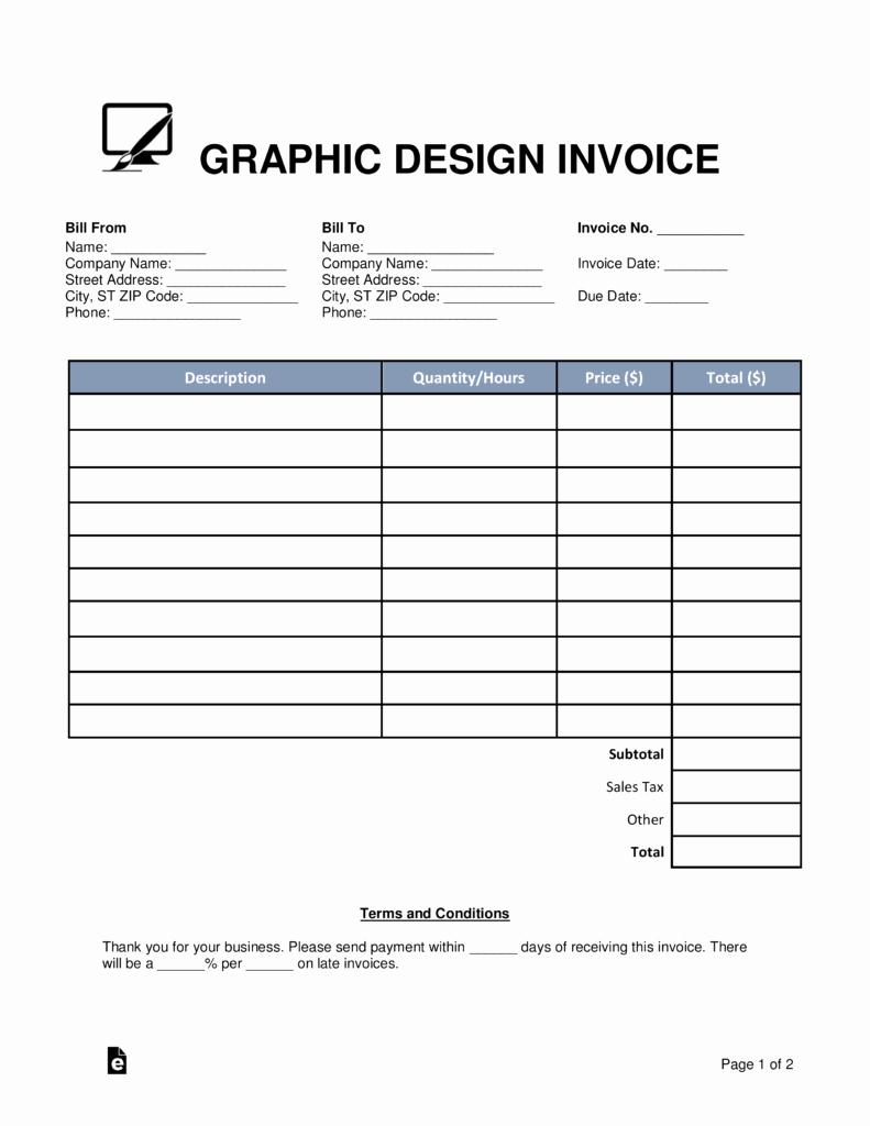 Graphic Design Invoice Invoice Design Inspiration
