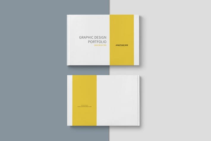 Graphic Design Portfolio Template by Adekfotografia On