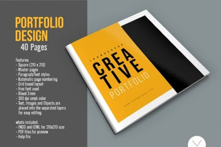 Graphic Design Portfolio Template by top Design