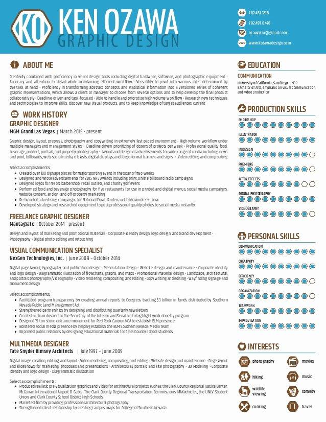 Graphic Design Resume 11 2015