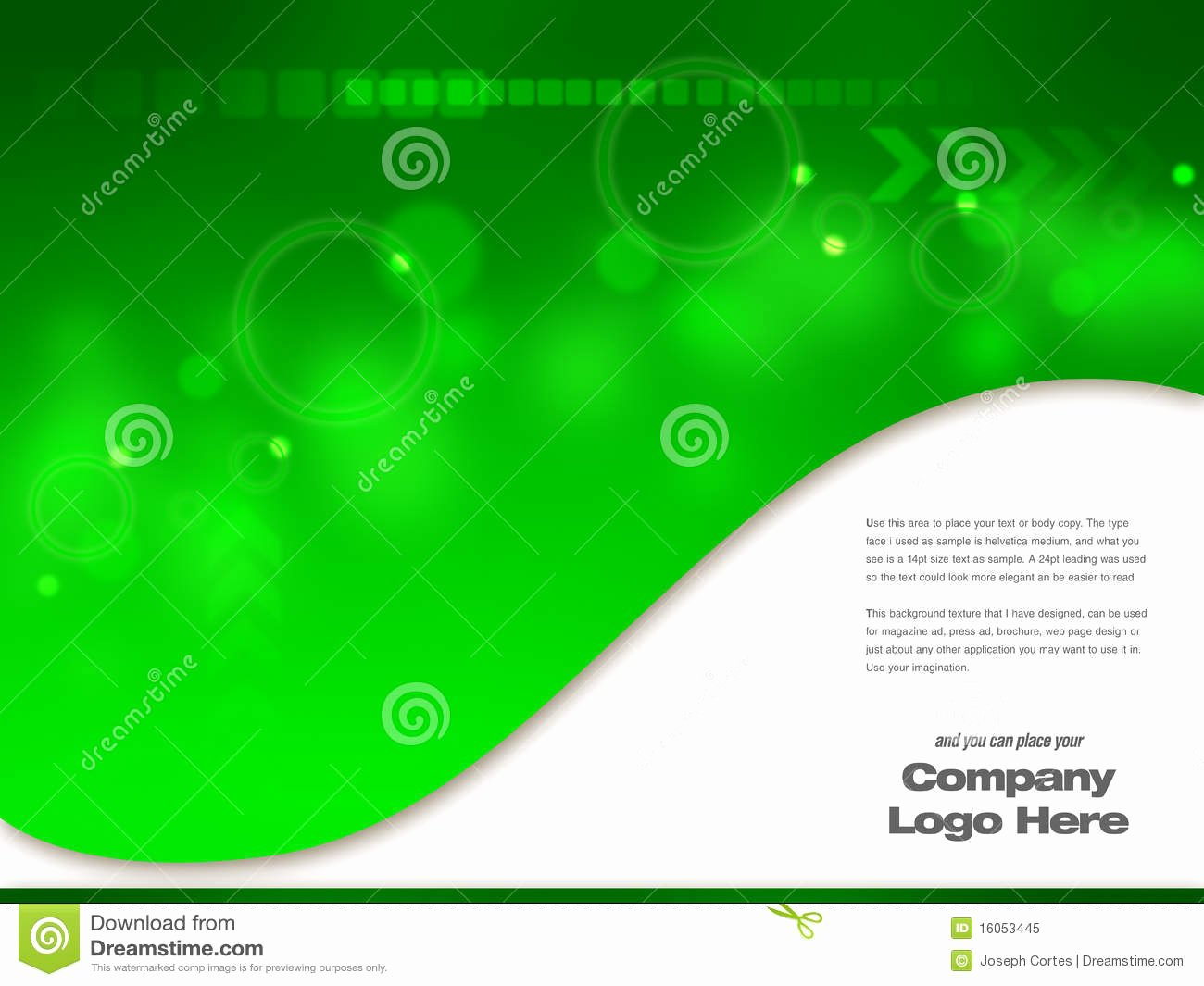 Graphic Design Template Stock Illustration Image Of
