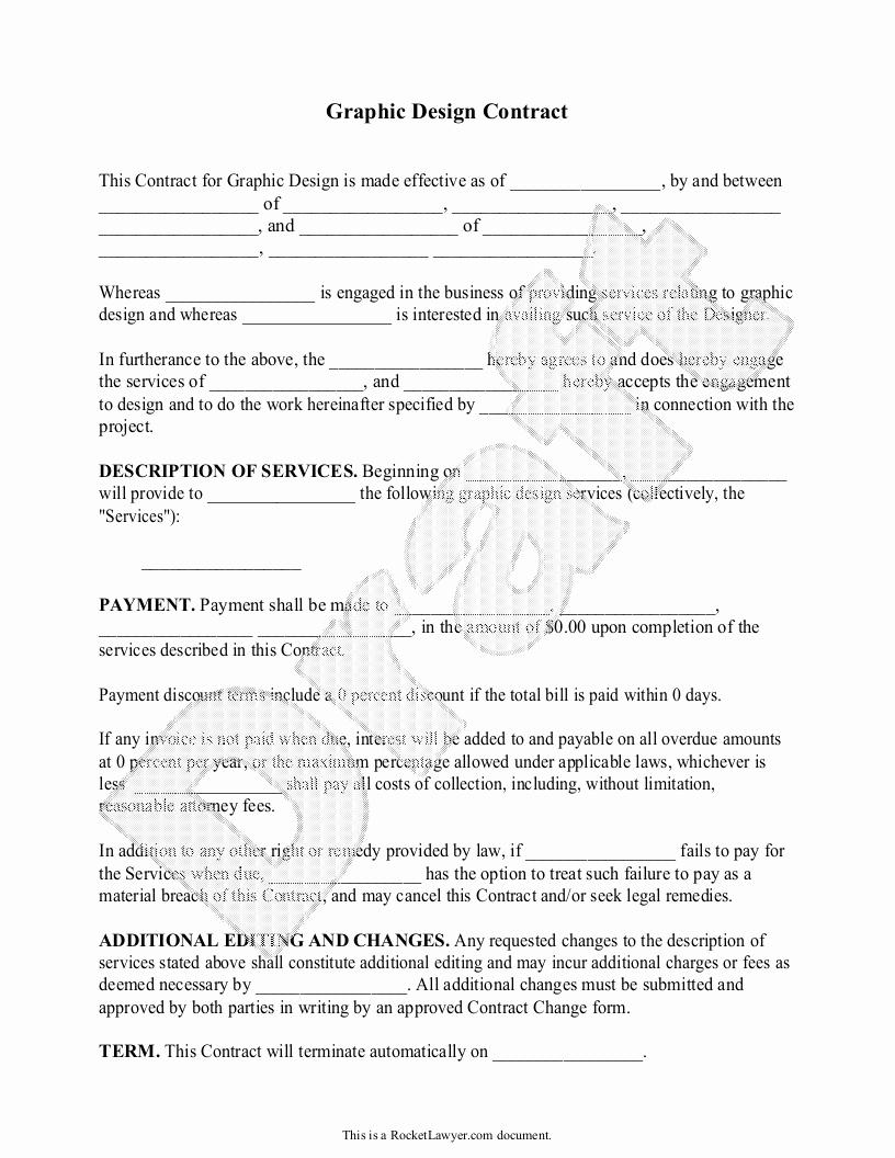 Graphic Designer Contract