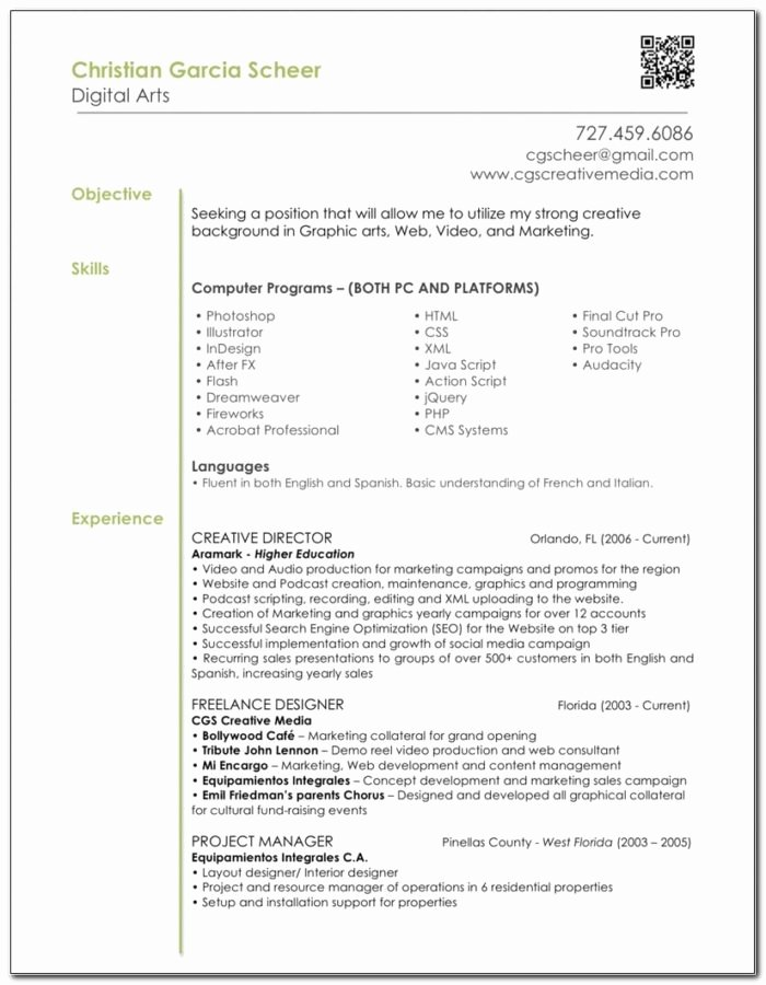 Graphic Designer Resume Objective Statement – Sell Buy Image