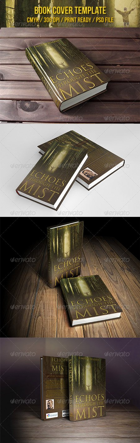 Graphicriver Multi 3d Book Cover Action with Psd Template