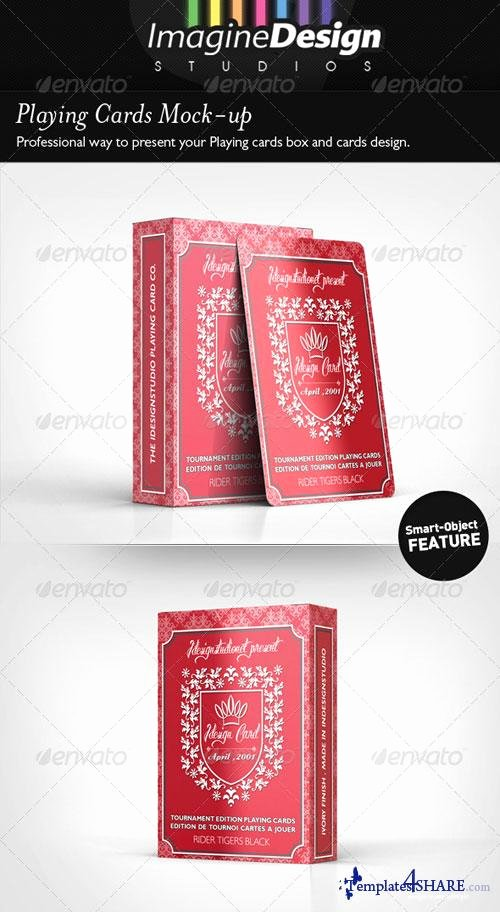 Graphicriver Playing Cards Mock Up Templates4share