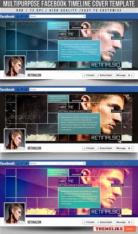 Graphicriver Smart Timeline Cover V2 All Design