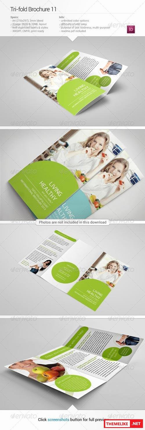 Graphicriver Tri Fold Brochure 11 All Design