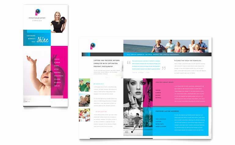 Graphy Business Brochure Template Word & Publisher