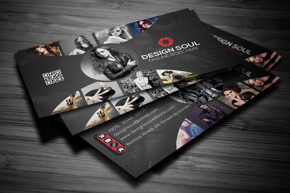 Graphy Business Card Business Card Templates On