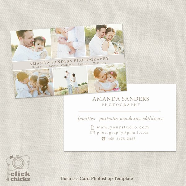 Graphy Business Card Shop Template for