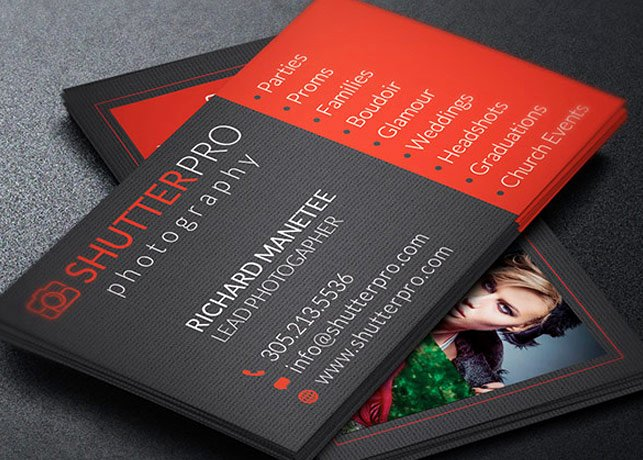 Graphy Business Card Template