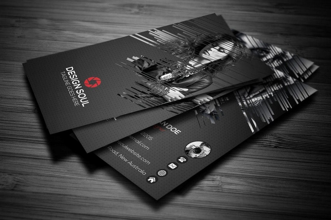 Graphy Business Cards 20 Templates & Ideas