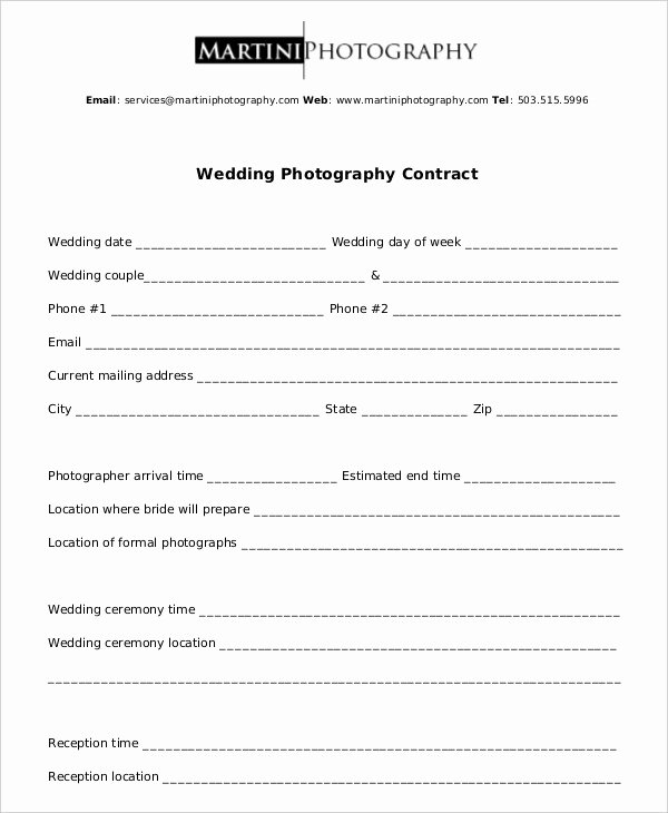 Graphy Contract Example 11 Free Word Pdf Documents