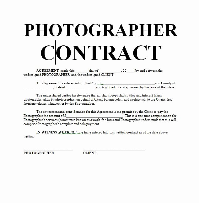 Graphy Contract