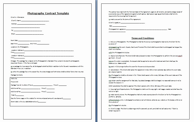 Graphy Contract Template