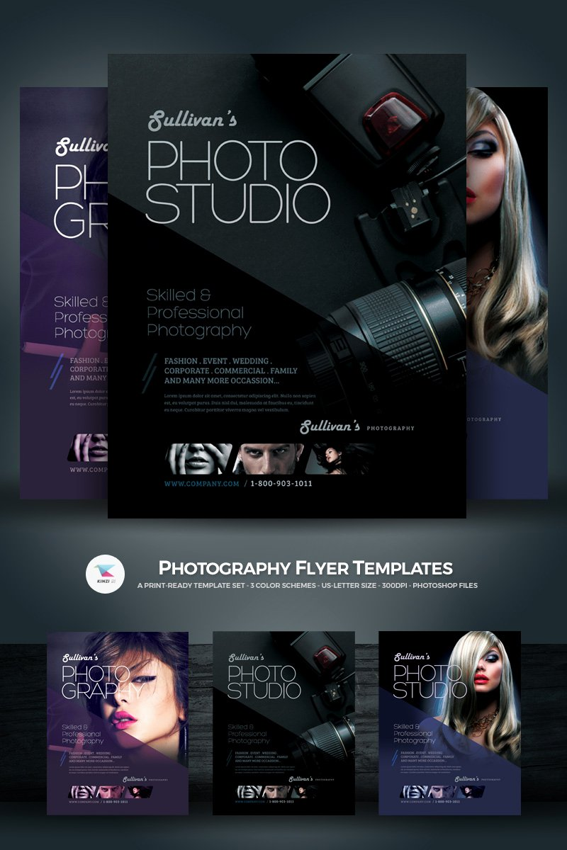 Graphy Flyer Psd Template