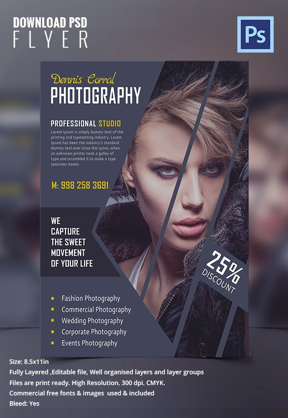 Graphy Flyer Template 31 Free Psd format Download