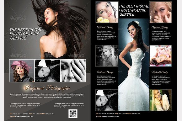 Graphy Flyer Template Flyer Templates On Creative