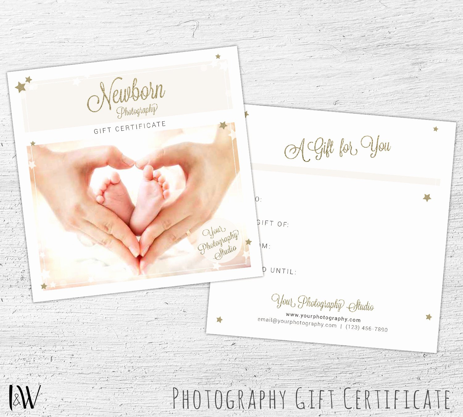 Graphy Gift Certificate Shop Template for