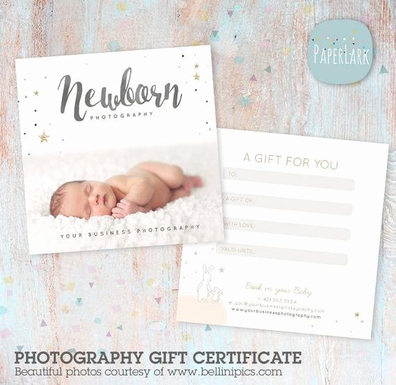 Graphy Gift Certificate Shop Template Vg014