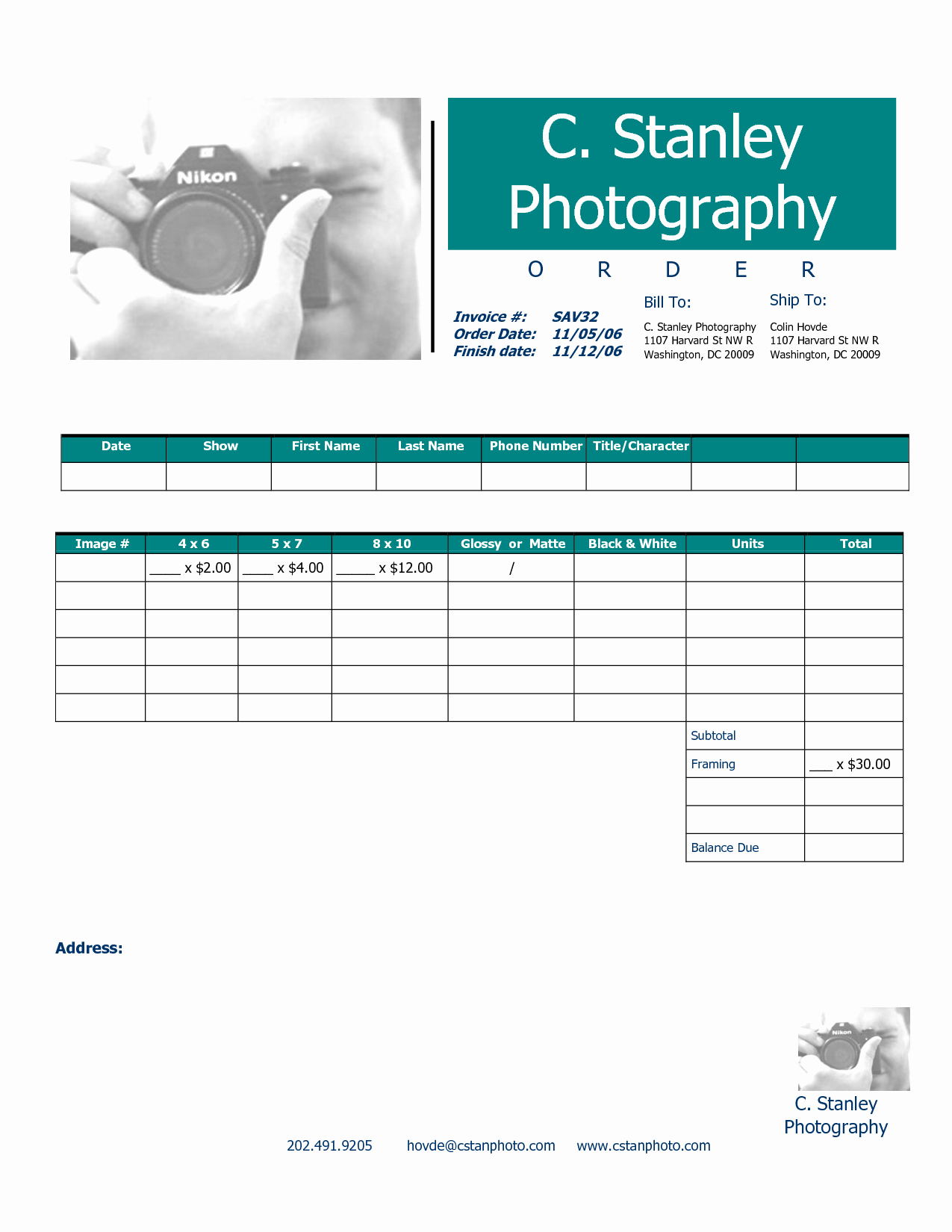 Graphy Invoice Template Spreadsheet Templates for