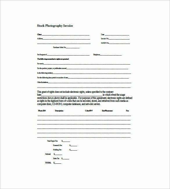Graphy Invoice Templates 6 Free Word Excel Pdf