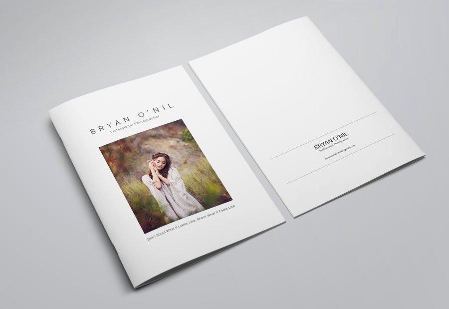 Graphy Portfolio Template Indesign Free Beautiful