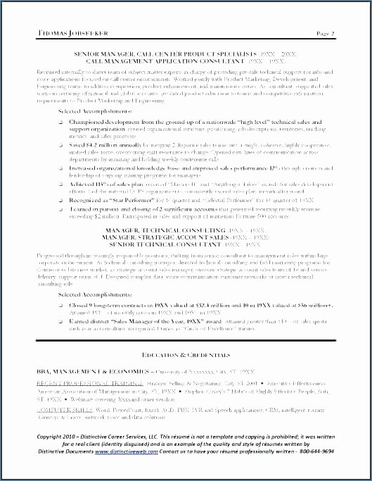 Great Objective Statements for Resume
