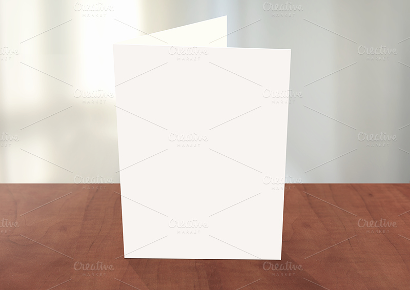 Greeting Card Shop Mockup Card Templates On