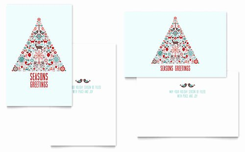 Greeting Card Templates Word & Publisher Templates
