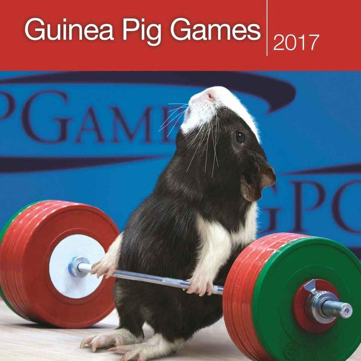 Guinea Pig Games Calendar 2017