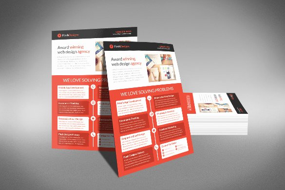 Half Page Flyers 27 Free Psd Ai Vector Eps format
