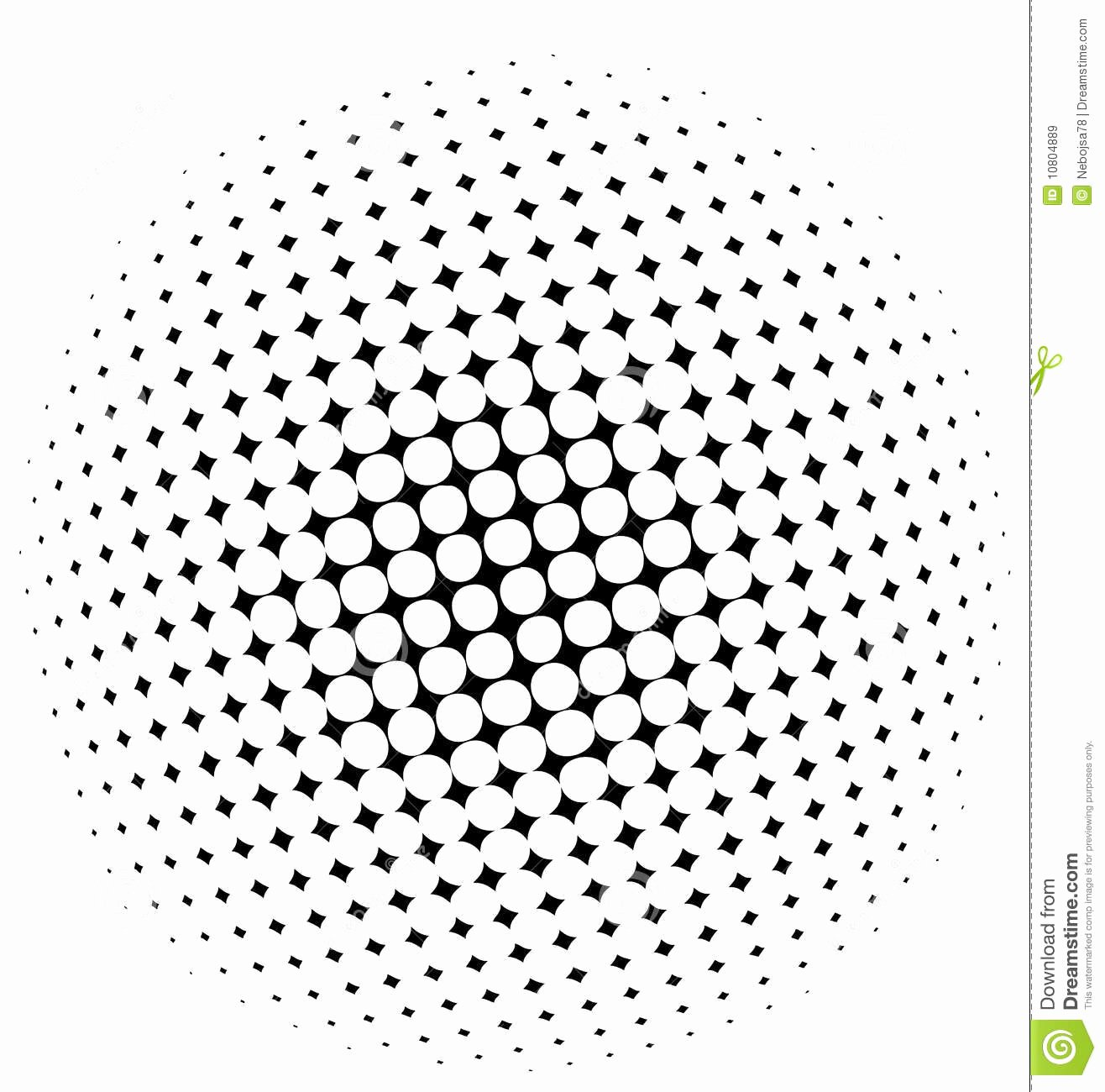 Halftone Pattern Royalty Free Stock Image