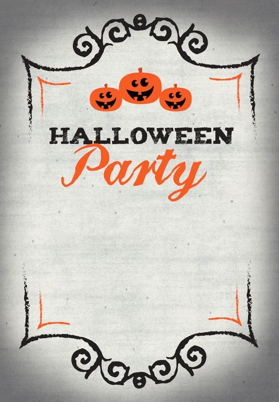 Halloween Free Printable and Parties On Pinterest