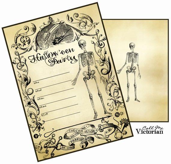 Halloween Invitation Cards Free Printable – Festival