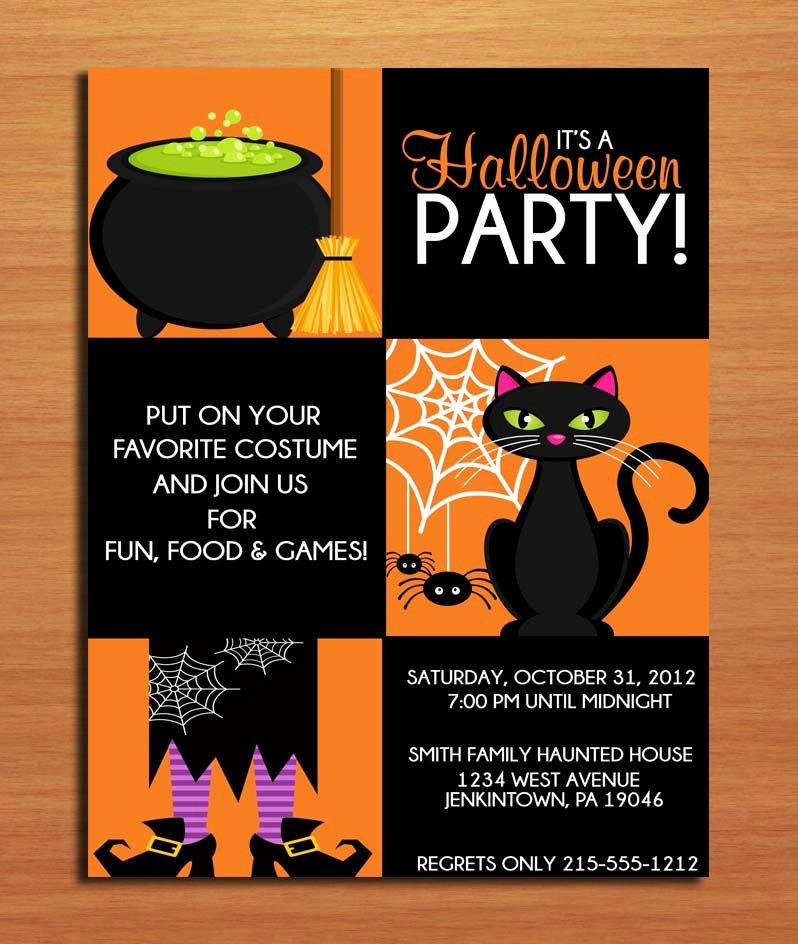 Halloween Invitation Template Editable – Festival Collections