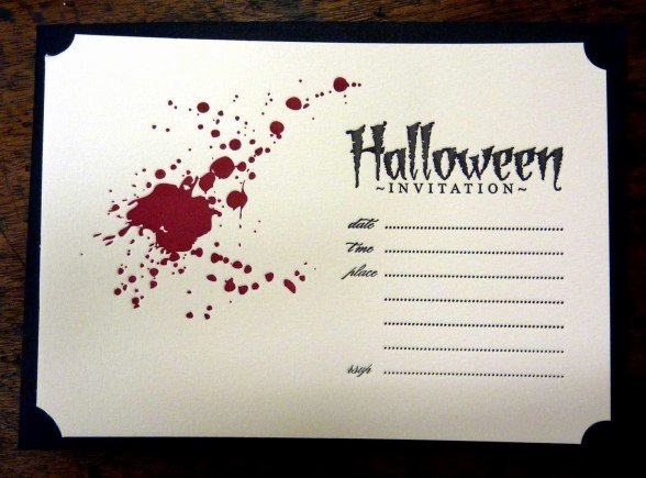 Halloween Invitation Template – Festival Collections