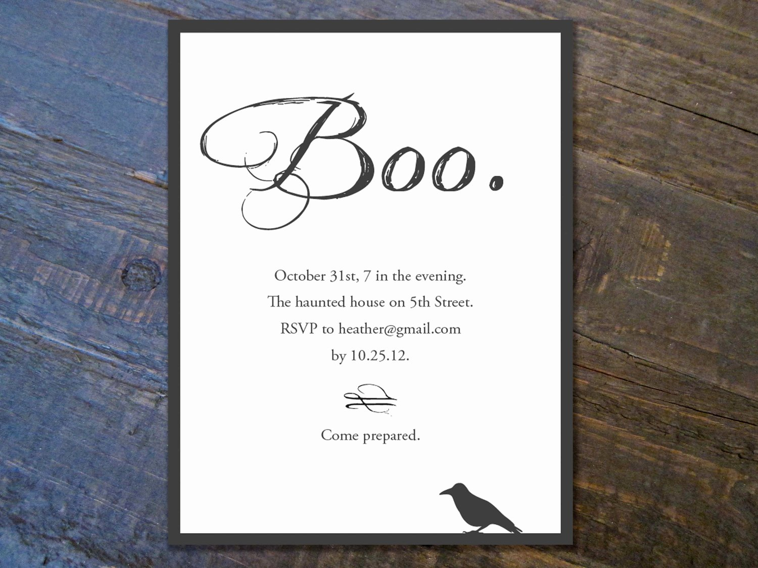 Halloween Invitation Templates Free – Festival Collections