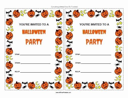 Halloween Invitations Templates