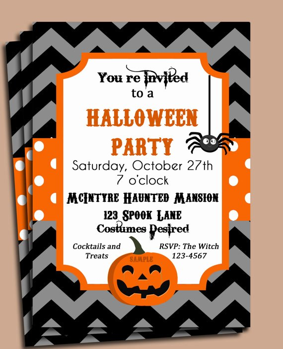 Halloween Party Invitation Printable – Festival Collections